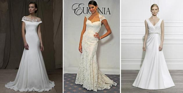 Left to right: Lela Rose Wedding Collection, Eugenia, Moonlight Collection