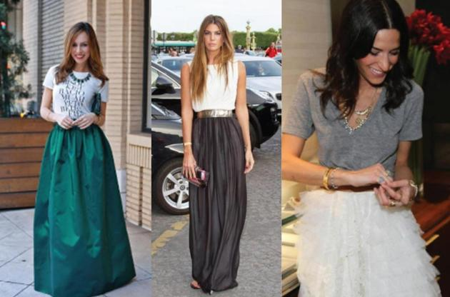 tees with skirts