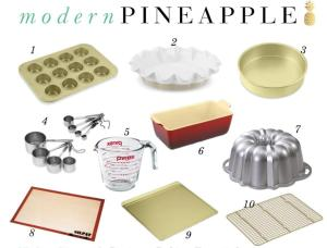 modern pineapple picture